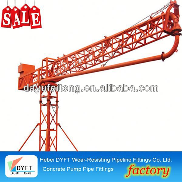 used concrete boom pump HAOMEI Supply 37m/39m Boom Placer For Sale
