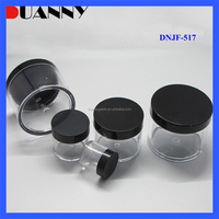 EMPTY PS PLASTIC COSMETIC JAR 10ML, CUSTOM COLORED COSMETIC JAR 10ML