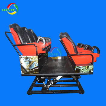Good price 6 seats 7d cinema theater electric system 5d motion simulator 7d theatres