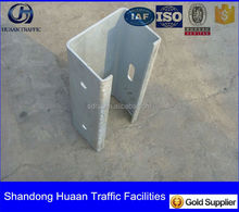 steel profile C channel post supporting guardrails