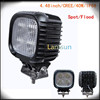 CE and RoHS new brand 40W IP68 high intensity led truck work lights