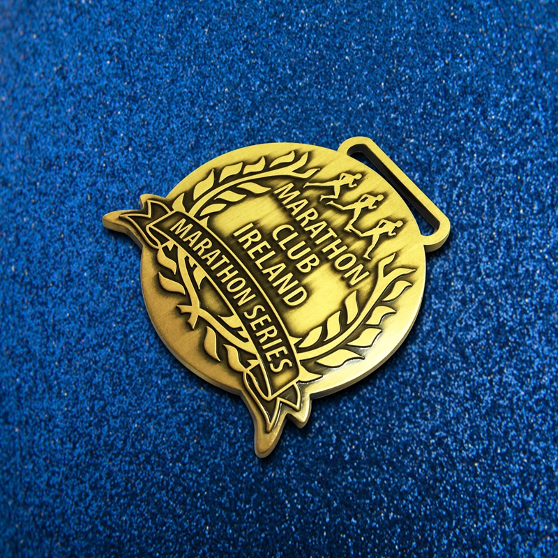 Wholesale Cheap Customized New Award Medal with Ribbon Made in China