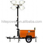 Factory sale price mobile diesel Light tower with diesel generator set
