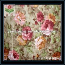 100% jacquard polyester printed fabric new curtain designs 2011