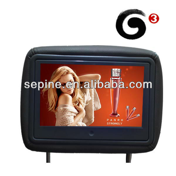 Inside taxi digital interactive electronic advertising equipment for cars