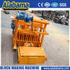 Famous trademark single colour hollow blocks making/ qmy block machine