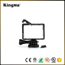 KingMa New Style Gopros Frame With Basic Mount And Long Screw For Gopro Hero 4/3+/3 (Standard and for Bacpac Frame)