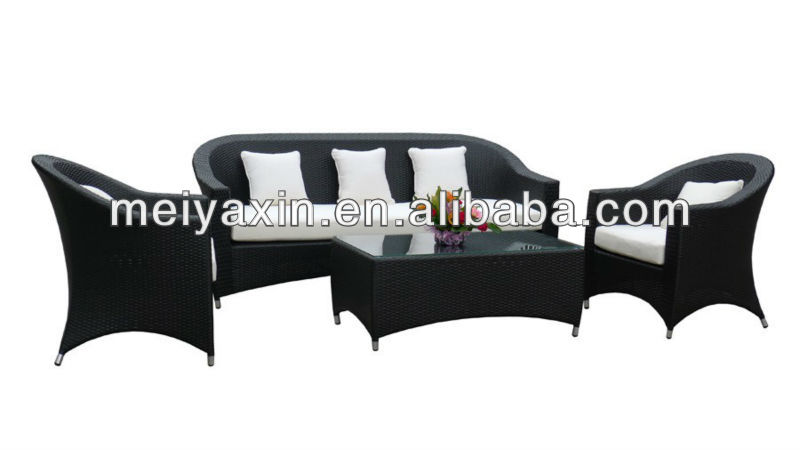 MYX12-606 hot sale PE Rattan summer scottish homes