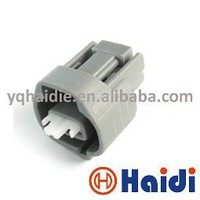 2 pin female male power cord connector, wire clip housing, waterproof electrical connector