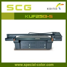 Large format Multi-function Flatbed UV white color printer