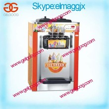 Soft Ice Cream Maker/Table Top Soft Serve Ice Cream Machine/3 flavor soft ice cream machine