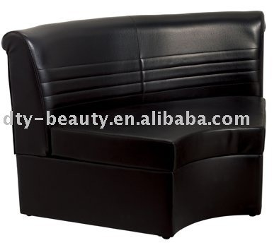 black waiting chair for hair salon DY-2786
