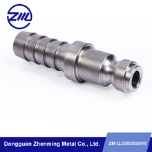 Stainless steel pipe fittings,high demand precision cnc machining components/parts