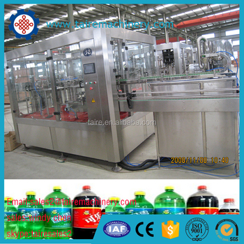 small bottled carbonated drink filling machine/bottled carbonated beverage filling machine