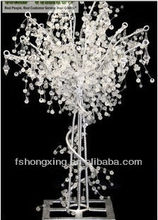 CW663wholesale diamond tree branches crystal wired garland for manzanita trees for wedding