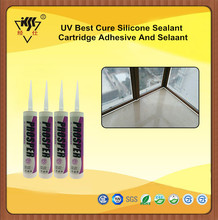 UV Best Cure Silicone Sealant Cartridge Adhesive And Selaant