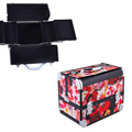Portable makeup kit case cosmetic beauty box vanity case