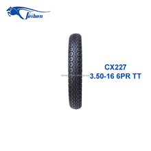 FEIBEN BRAND TIRE FACTORY IN CHINA MOTORCYCLE TIRE MANUFACTURER CX227 STREET TYRE 3.50-16