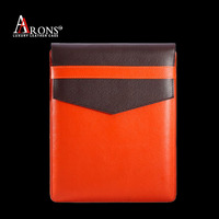 Wholesale genuine leather for ipad sleeve leather case