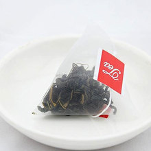 Wholesale custom printed tag empty pyramid tea bag