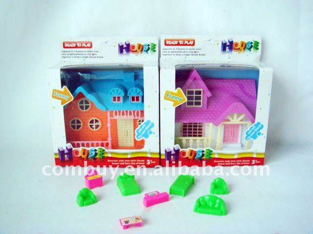 Hot Sale Mini Toy Kids Plastic Ttree House For Children