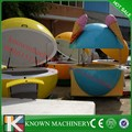 High quality fibreglass made kiosk/Orange shape kiosk design /Moveable fibreglass kiosk