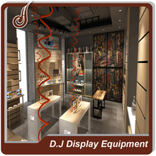 Customized size PD MDF material mall kiosk for cell phone showcase display