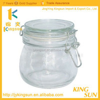 New style high quality custom china suplier best selling lotion/cream glass jar