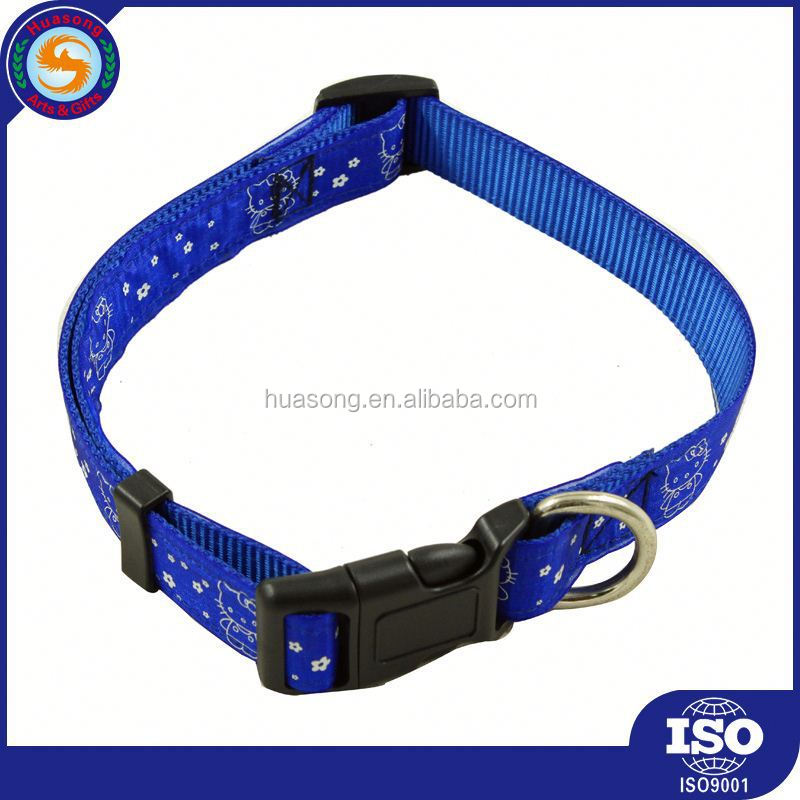 excellent luxury pvc fluorescent dog collar