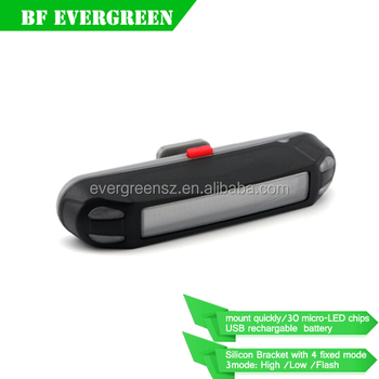 New Generation Rechargeable 30 led Tail light with USB Cable