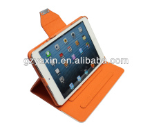 walletfor ipad case,card slot design case for ipad mini