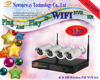 2016 China New Year Top 10 Hot selling home security camera system Wifi IP Camera 4ch wifi camera kits