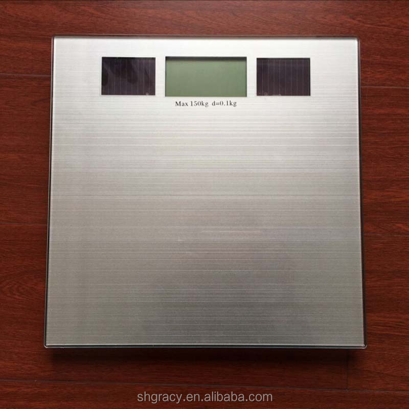 Solar energy Bathroom scale usb digital scale