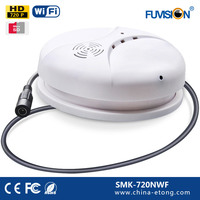 Somke Detector 24 hours recording cctv camera high quality 64GB 720P Micro SD Card IP Cam