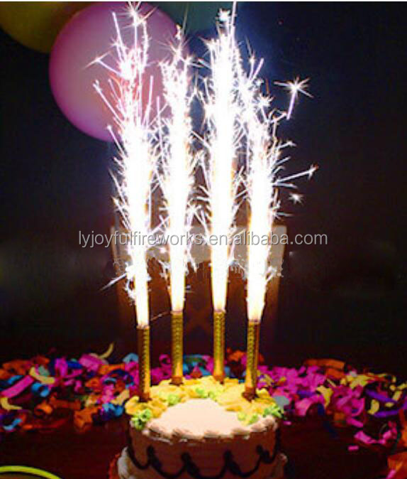 Factory Directly Birthday Candle Fireworks Sparklers Indoor 10cm 12cm 15cm