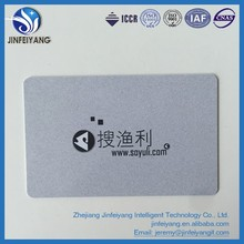 Printable long distance parking lot UHF RFID PVC cards