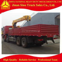 Sinotruck 12Ton Truck Mounted Crane for sale