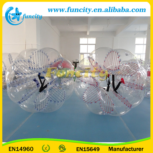 0.1MM TPU/PVC Inflatable Bubble Soccer Inflatable Football Games
