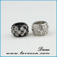 Pave Beads Diamond Spacer Findings Jewelry Wheel Finding Jewelry Manufacturer