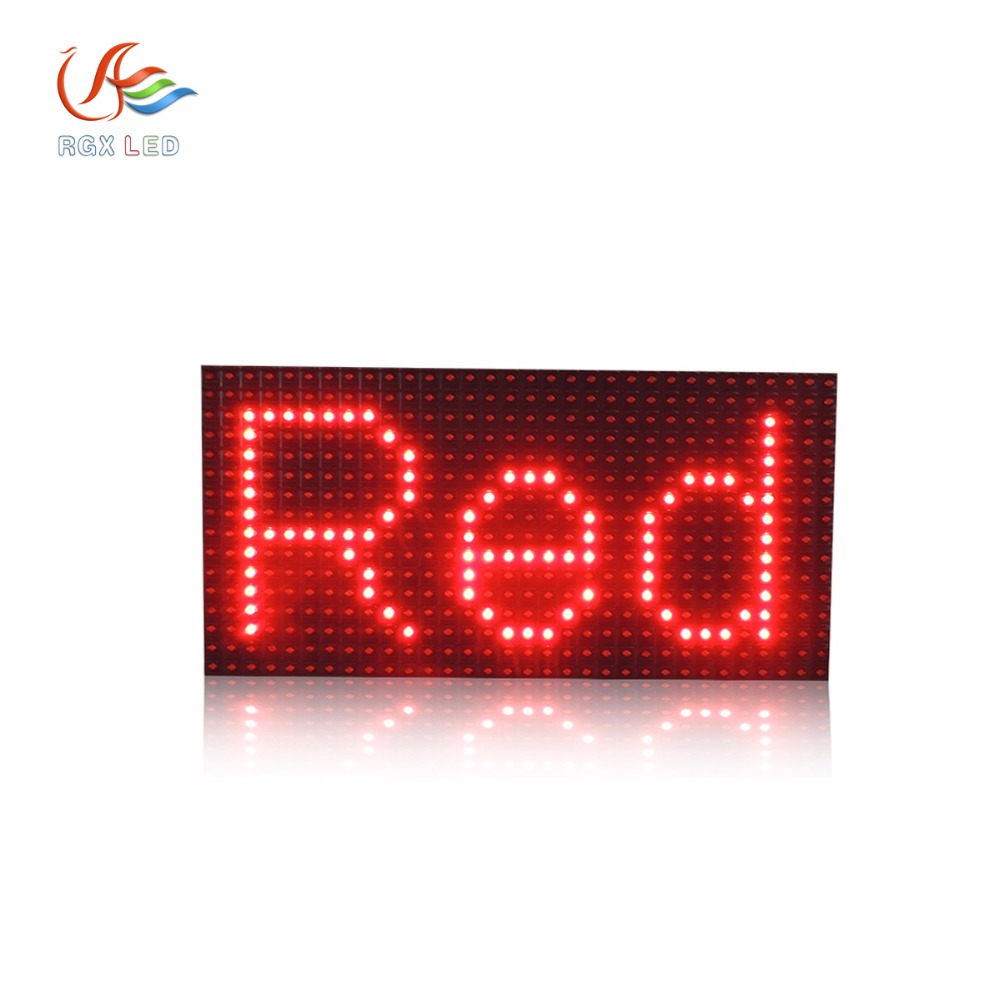 Three years warranty High Brightness <strong>P10</strong> Outdoor Single Color Led Display Module