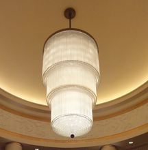 Custom Modern Crystal Chandelier for Hotel Saudi Arabia
