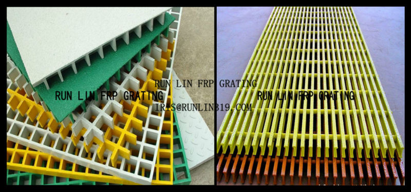 Fiberglass Reinfored Plastic Profile- Blue FRP Pultruded Channel