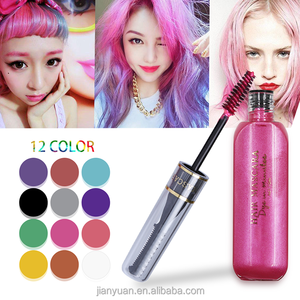 2018 New Arrival 10 Colors Washable Hair Color Brush Temporary Hair Color Application Brush