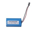 Victpower li-ion battery pack 7.4v 2200mah 2s1p lithium battery pack
