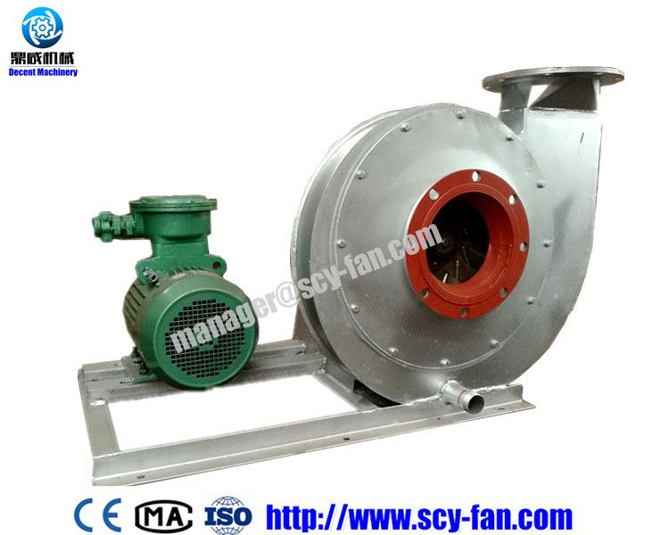 Dust Smoke Mechanical Exhausting Centrifugal Ventilator
