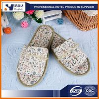 New promotional gift cotton terry hotel woman slipper