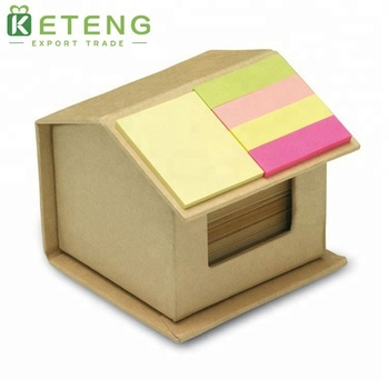 High Quality Custom Silicone House Shaped Sticky Memo Note Pad