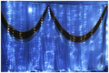 flexible led curtains for stage backdrops/wedding up lightings/fiber optic light curtain shenzhen wholesale