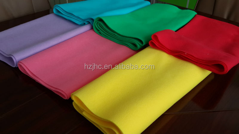 Needle Punched Non Woven Fabric for felt diy products