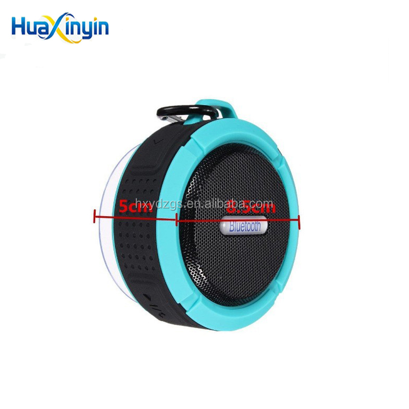 Hot selling Waterproof bluetooth speaker Mini outdoor sport Speaker with Built-in Mic